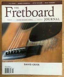 Fretboard Journal Winter 2009 Number 16 David Grier Out Of Print Like New