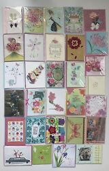 Lot 30 Papyrus Mothers Day Greeting Cards Assorted Top Quality 3d New Lot 2