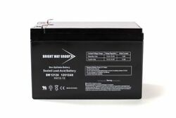 Peg Perego Craftsman Atv 12v 12ah F2 Ride-on Toys Replacement Battery