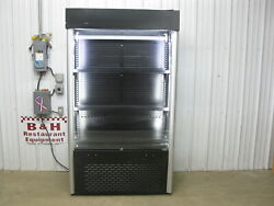 Mtl Cool 45 Open Air Refrigerated 4' Multi Deck Display Case Cooler G-air V5