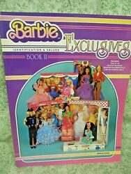 Dd-225 Book Barbie Exclusives Id And Values Bk 2 Collector Bks, 1996 Pb