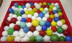 Rare Vintage Marbles M.f. Christensen Estate Collection Opaques Turquoise Jade