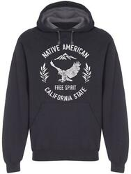 California Native Americans Hoodie Menand039s -image By Shutterstock