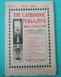The Cambridge Magazine May 1896 Illustrated Convict Women's Rights Old Ads
