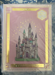 Disney Castle Collection Aurora Sleeping Beauty Castle Ornament---in Hand