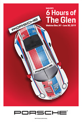 Awesome Porsche Poster 6 Hours Of The Glen