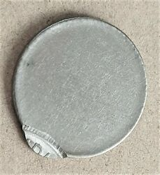 India Re 1, Error Coin, Year And Mint Not Visible, With 'off Center Strike' S91
