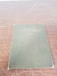 History Of The 318th Infantry Regiment Eightieth Division Ww I Antique Book