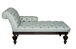 Mike Bell Brighton Custom Tufted Chaise Lounge Day Bed End Of Bed Bench