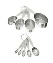 Cuisipro Stainless Steel Measuring Cup And Spoon Set 1