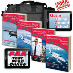 Gleim Deluxe Commercial Pilot Kit With Online Ground School And Test Prep 2021