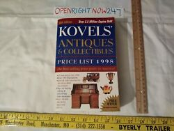 Koveland039s Antiques And Collectibles Price List 1998 Paperback Thicker Book