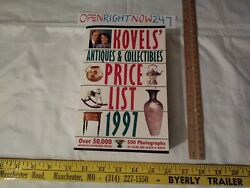 Koveland039s Antiques And Collectibles Price List 1997 Paperback Thicker Book