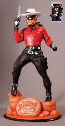Electric Tiki Archive-the Lone Ranger Classic Heroes Statue Red Version 1/200