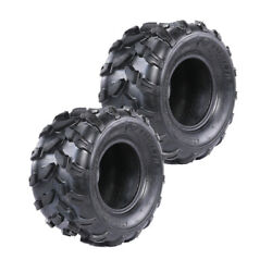 2x Tire 18x9.50-8 18x9.5x8 For Lawn Garden Cart Mower Tractor 4 Ply Front / Rear