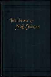 Signed Story Of New Sweden Maine Swedish American Colony Immigrants Aroostook Co