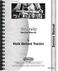 Gravely Early L Walk Behind Tractor Service Repair Manual
