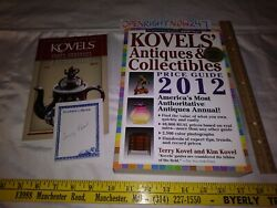 Koveland039s Antiques And Collectibles Price List 2012 Paperback 2011 + Extras