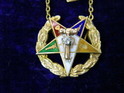 Vintage 1923 Order Of The Easter Star Oes 32 Degree York Chapter