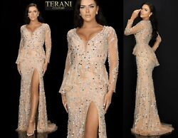 Terani Couture 2012gl2392 Authentic Dress. Official Retailer. Free Ups/fedex