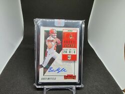 2018 Panini Contenders Preview Baker Mayfield Rookie Ticket Auto 19/24
