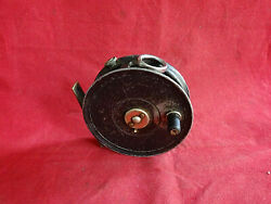 A Good Alex Martin The Club J W Young Built 14a Trout Fly Reel + Nickel Guard