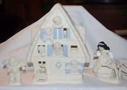 Snowbabies Snow White And The Seven Snowbabies Dept 56 2002 Guest Collection