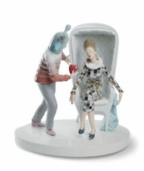 Lladro 01007270 The Love Explosion Couple Figurine. By Jaime Hayon Free Ship