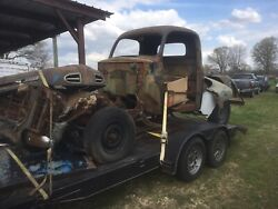 1948-1952 Ford F1 Parts Lot