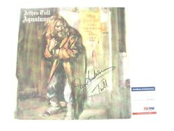 Ian Anderson Autographed Signed Jethro Tull Aqualung Vinyl Psadna Af71537