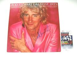 Rod Stewart Autographed Signed Greatest Hits Vinyl Jsa Ff40520