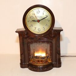 Mastercrafters Andnbspmotion Fireplace Clock