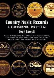 Country Music Records A Discography 1921-1942 - Hardcover - Good