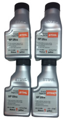 Qty Of 4 Stihl 2.6 Ounce High Performance Ultra 2 Cycle Engine Oil 0781 313 8002