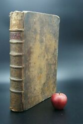 † Y.1714 Catholic Bible Church Old New Testament French Book 18th Paris France †