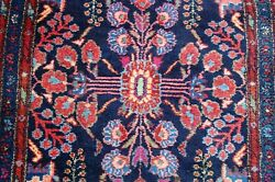 C1910s Antique Long Narrow Size_fine Lilihan Malayeer Rug Runner 2and039 9 X 16and039 4