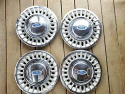 Oem 98-02 Ford Crown Victoria 16 24 Slot F8ac-1130-aa Hubcap Wheel Cover Lot 4