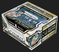 2020-2021 Panini Prizm Basketball 1st Off The Line Hobby Box 🔥🔥🔥 In Hand
