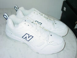 Mens New Balance 621 Mx621wt White Cross Training Shoes Size 12 Extra Wide