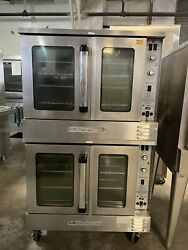 South-bend Bgs/22s B Series - Double Stack Convection Oven - Nat Gas