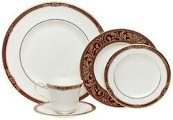 Royal Doulton China Tennyson Five Piece Place Setting - Discontinued