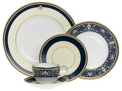 Royal Doulton China Challinor Five Piece Place Setting - Discontinued