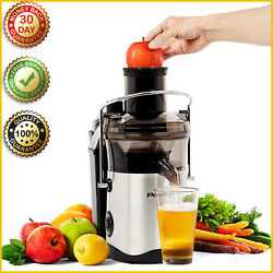 Self-cleaning Juicer Plus Power Xl Stainless Steel Blade 1000 Watts 2 Speed New