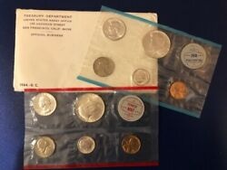Us 1964 Mint Set P And D 90 Silver