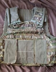 Andnbspnew British Military Osprey Plate Carrier Vest Pouches And More New