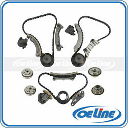 For 07-17 Buick Enclave Cadillac 3.0l 3.6l Dohc Timing Chain Kit W/ Vvt Sprocket