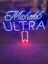 Michelob Ultra 32 X 27 Neon Beer Sign
