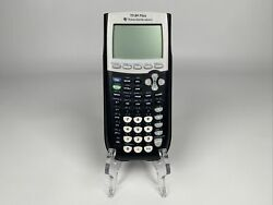 Texas Instruments Ti 84 Plus Graphing Calculator Works Requires 4 Aaa Batteries