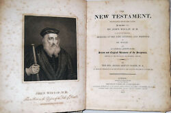 1382-1810 Antique Rare First New Testament Holy Bible In English John Wycliffe