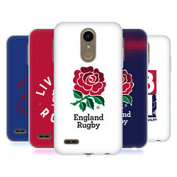 Official England Rugby Union 2016/17 The Rose Soft Gel Case For Lg Phones 1